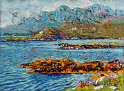 Bertraghboy Bay in Galway's Connemara