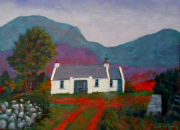 Cottage, Mountains, County Donegal