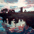 Claregalway friary painting