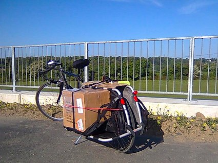 20 canvases on an XtraCycle