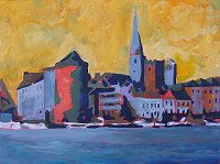 painting of Waterford City