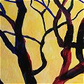 Yellow Tree I, a painting