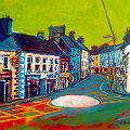 Painting of Carrick-on-Shannon, Leitrim