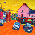 Painting of Kinvara, Galway