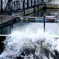 Wave Hitting Dun Laoghaire Sea Baths