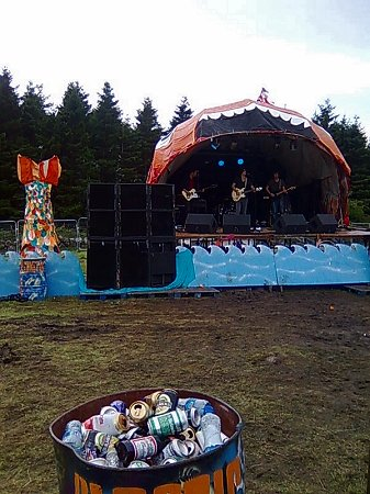 Knockan Stockan Music Festival Fish Stage