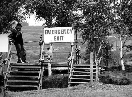 Knockan Stockan Music Festival emergency exit