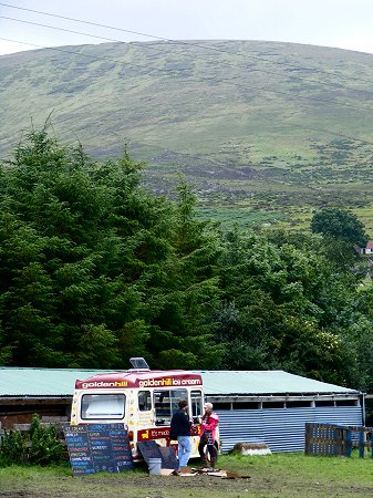 Knockan Stockan Music Festival ice cream van